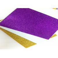Wholesale Fresh Eco - Friendly Glitter Foam Sheets , Shockproof Glitter Craft Foam Sheets from china suppliers