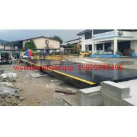 Buy cheap Hot Galvanized Truck Weigh Scales 3 X 18m 70t Carbon Steel Portable Weighbridge from wholesalers