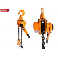 Wholesale 3 Ton Steel Chain Lever Hoist / Ratchet Lever Block Standard Lift 3m from china suppliers