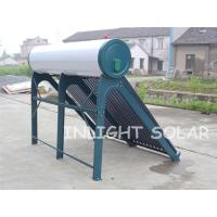 Quality Integrated Non Pressurized Solar Tube Hot Water System With Vacuum Tube Thermo for sale