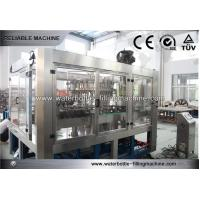 China High Speed Volumetric CSD Juice Bottling Equipment For Mineral Water , Carbonated Drink on sale