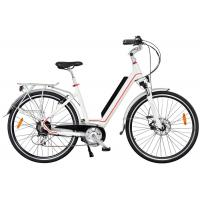 Wholesale Ladies High End Electric Bike , Rear Wheel Motor And Pedal Assisted System from china suppliers