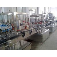 Wholesale Automated Water Bottling Production Line / Beverage Filling Line For PET Bottle from china suppliers