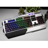 Wholesale Metal Mechanical Keyboard RGB , Gaming Computer Keyboard Light Up Keys from china suppliers