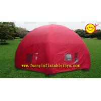 Wholesale 30FT Red Dome Inflatable Tent For Commercial Promotion Advertising EN71 from china suppliers