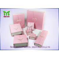 Wholesale Custom Design Printed Pink Red Luxury Large gift box With Ribbon from china suppliers