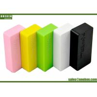 Wholesale 5200Mah Portable Cell Phone Battery Charger , Mobile Phone Power Bank Fast Charging from china suppliers