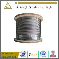 Wholesale 8*19W steel wire rope, elevator wire rope from china suppliers