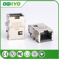 Wholesale Plate RJ45 PCB Connector , Network Port RJ45 Vertical with Plating from china suppliers