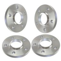 15mm Thick | Hubcentric Silver Wheel Spacers | 5x130 | Porsche VW Audi | 71.6mm