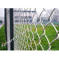 Wholesale Separation Pvc Coated Chain Link Fence Netting / Coated Wire Fence from china suppliers