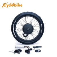 Wholesale 26 Inch 1000w Fat Electric Bicycle Kit 26x4.0 Kenda Tyre High Speed 50km/h from china suppliers