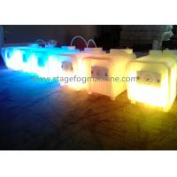 Wholesale Indoor Mini Clear Housing LED Fog Machine Mist Maker 3 In 1 RGB Auto Stobe DJ Wedding Party  X-025A from china suppliers