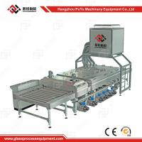 Wholesale Small Construction PLC Glass Washing Machine After Glass Grinding from china suppliers