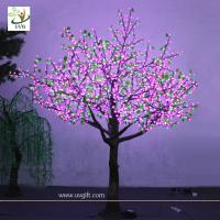 Wholesale UVG LED Lighted Artificial Trees Cherry Blossoms garden landscaping from china suppliers