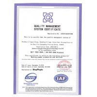 Hebei Guanglai Detergent Technology Co.,Ltd Certifications