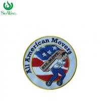 Wholesale Handmade Iron On Small Run Embroidered Patches For Garments 3 Inches Size from china suppliers