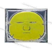 Wholesale Lemon Collagen Crystal Facial Mask With Facial / Eye Mask For Moisturing, Nourishing from china suppliers