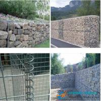 Wholesale Low Cost Gabion Mesh/Gabion Box With Galvanized Wire, PVC Coated Wire from china suppliers