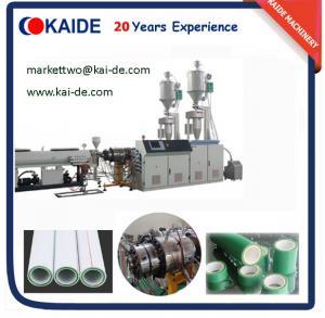 Wholesale PPR-GF-PPR Pipe Making Machine/PPR Fiberglass Pipe Machine from china suppliers