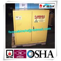 Wholesale Laboratory Industrial Safety Cabinets , Flammable Liquid Chemical Safety Storage Cabinet from china suppliers