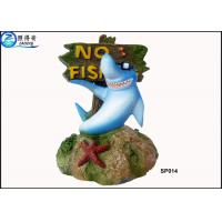 Wholesale No Fishing Mark Cute Modern Fish Tank Ornaments Aquarium Resin Decorations with Dolphins from china suppliers