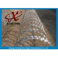 Wholesale Stainless Steel Razor Barbed Wire Mesh Fence 2.5mm Wire Diameter XLF-12 from china suppliers