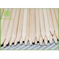 Quality Colorful Wooden Corn Dog Sticks , Wooden Food Sticks For Baking 100pcs / Bag for sale