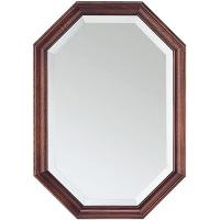 Wholesale 6MM clear  octagonal glass mirror with antique frame from china suppliers