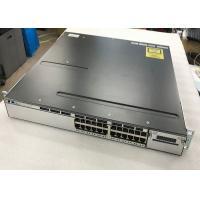 Buy cheap Catalyst 3750X 24 Port Ethernet Switch Cisco Second Hand Equipment Dual Redundant from wholesalers