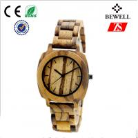 Wholesale Japanese Movement Quartz Men Wood Watches from china suppliers