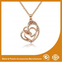 Wholesale Gold Plated / Silver Plated Metal Chain Necklace Jewellery ECO Friendly from china suppliers