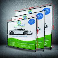 Wholesale 8 X 8 Collapsible Display Stand , Dye - Sub Printing Retractable Banner Display from china suppliers