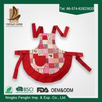 Wholesale Childs Hostess Apron, Cupcake, Adjustable Ties for Versatile Fit , 100% Cotton from china suppliers