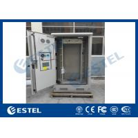 Wholesale Galvanized Steel Thermostatic Outdoor Telecom Cabinet , Outdoor Electronics Cabinet from china suppliers