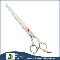 Buy cheap Private Label Hair Scissor Factory Japanese Stainless Steel Pet Grooming Shear Scissors PS40 from wholesalers