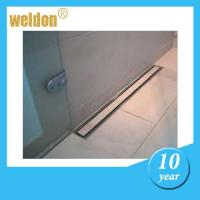 Wholesale Floor stainless steel channel shower drain / rectangular shower drain from china suppliers