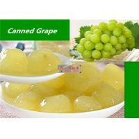 Wholesale Healthy Canned Fruit Food Grape In Syrup / Natural Seedless Green Grapes from china suppliers