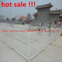 Wholesale Galvanized Barricades Factory/Crowd Control Barrier/Temporary Fence from china suppliers