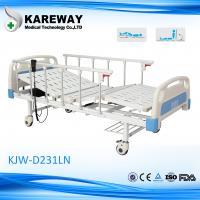 Wholesale Safety 2 Motors Electric ICU Bed , High Low Bed Hospital Bed With TPR Castor from china suppliers