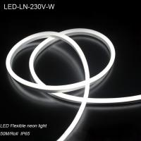 Wholesale IP44 230V Waterproof flexible LED Neon strip lights/ LED strip Light for building decoration from china suppliers