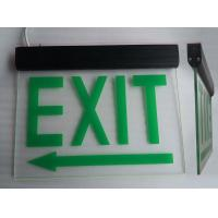 Wholesale Commercial Battery Operated Aluminum Exit Sign for Teaching Buildings (DSL008BM) from china suppliers