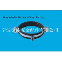 Wholesale Black EPDM Rubber Pipe Clamp For Industrial Quick Release Clamps CE / ROHS from china suppliers
