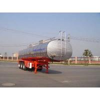 Wholesale 30000L-3 Axles-Stainless Steel Tanker Semi-Trailer for Grape Wine, Milk from china suppliers