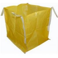 Wholesale Open Top Yellow Big Bag FIBC UV Treated 2200 LBS For Granular Packaging from china suppliers
