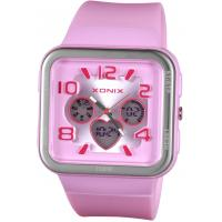 Wholesale Square Fashion Analog Digital Watches , 100M Water Resistant Quartz Wristwatch from china suppliers