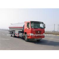 Wholesale HOWO Oil Transportation Trucks 20 CBM and 20000L drive 290hp in red or green color from china suppliers