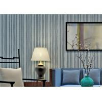 Wholesale Modern Style Mica Stone Wallpaper Heat Proof With Nature Material , Stripes Pattern from china suppliers