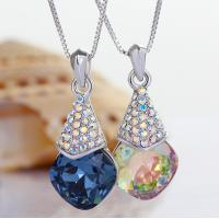Wholesale Ref No.: 105065 Crystal gourd Elements Swarovski necklace blue jewellery importers jewelry bracelets from china suppliers