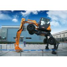 Buy cheap Construction 6ton Mini Wheel Excavator Bucket Capacity 0.044CBM Pilot Control hot selling from wholesalers